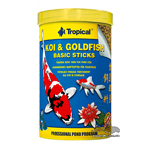 Tropical KOI & GOLDFISH BASIC STICKS - 5 литров